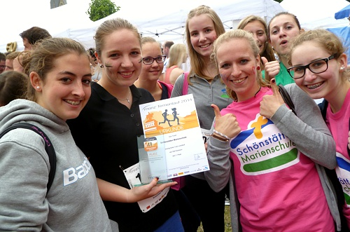 Schönstätter Marienschule Vallendar Münz Firmenlauf 2014 Lets Go